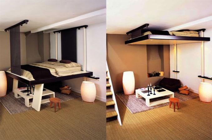 Mezzanine escamotable avantages et inconv nients - Comment faire un lit escamotable ...