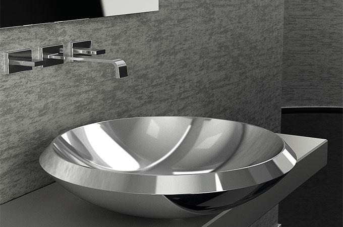 Tout savoir de la vasque en inox pour salle de bain.