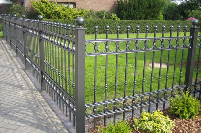 En savoir plus sur les clôtures de jardin en acier ou en fer ...