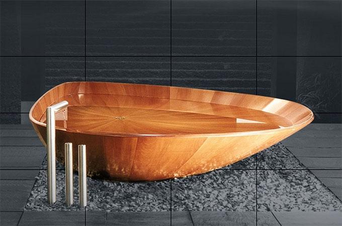 Avantages et inconvénients d\'une baignoire en bois ?
