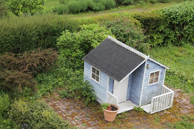 Les abris de jardin inférieurs à 20m2 ne sont pas soumis à un permis de construire